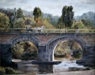 Bridge at Chinon, France