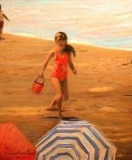 Vero Beach Series - Little Girl in Red